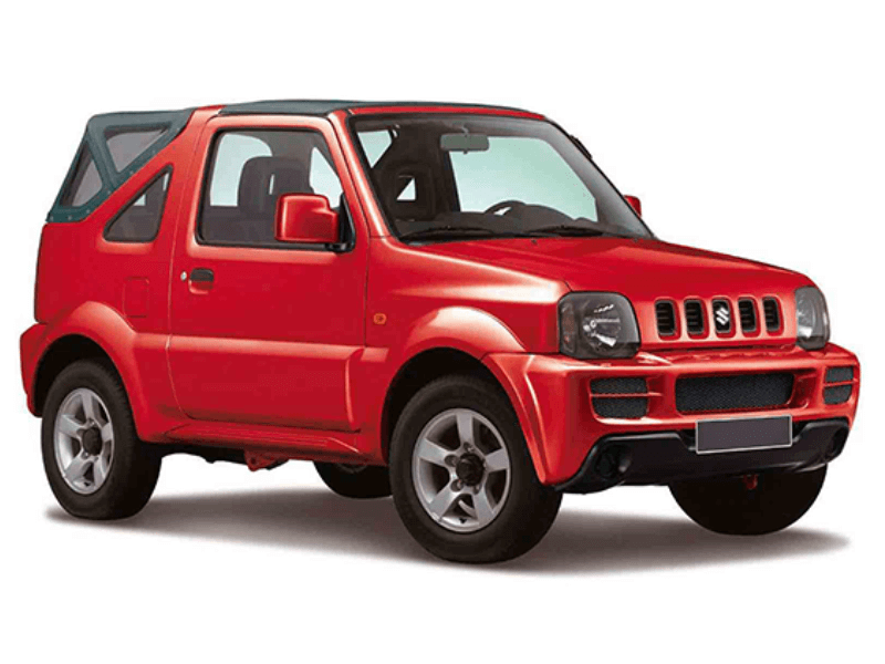 suzuki jimny jeep 4wd soft top a c value plus corfu car rental. Black Bedroom Furniture Sets. Home Design Ideas