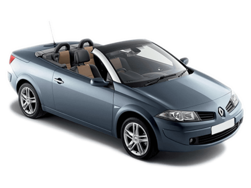renault megane cabriolet value plus corfu car rental. Black Bedroom Furniture Sets. Home Design Ideas