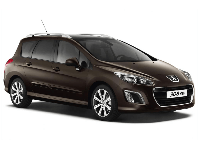 Peugeot 308 SW-7 seater/roof rack